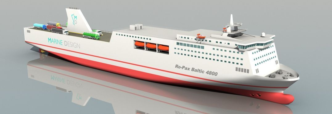 RoPax Baltic 4800 - baltic ferry