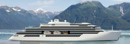 Mega Yachts for German shipyards
